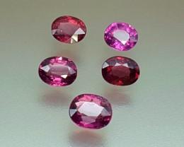 5.70 Crt Natural Rhodolite Garnet Faceted Gemstone (R 100)