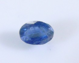 0.55ct Royal Blue Ceylon Sapphire , 100% Natural Untreated Gemstone