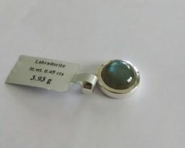 Labradorite 925 Sterling silver pendant #34291
