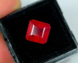 Lot 01 ~ 6.99Ct Natural VS Clarity Blood Red Color Ruby