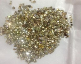 30.80ct  Fancy color Diamond Parcel, 100% Natural Untreated