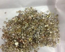 30.80ct  Fancy color Diamond Parcel, 100% Natural Untreated