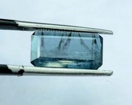 No Reserve - 2.85 CT Indicolite Afghan Tourmaline Gemstone (AR)