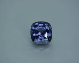 5.25 ct spinel.  Silver violet.