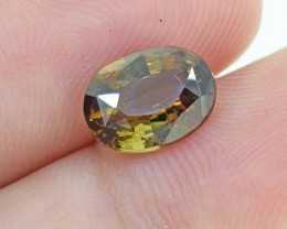 Natural Untreated Andalusite, 1.52 Ct (00561) - Clean / RARE - Collectors