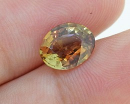 Natural Untreated Andalusite, 1.66 Ct (00562) - Clean / RARE - Collectors