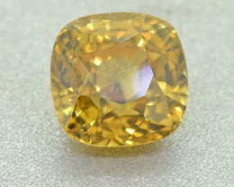Natural Golden Yellow Zircon, 3.76 Ct (00823) - Clean / Well cut