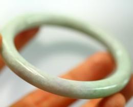 Burmese Type-A Jade Bangle Bracelet 177.0ct,54.7mm