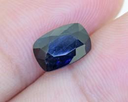 Ceylon Deep Blue Sapphire 2.18 Ct. (00382)