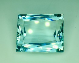 21.50 Crt Natural Aquamarine Faceted Gemstone