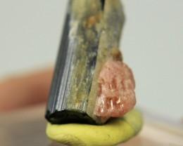 Rare Minerals Vayrynenite combine with black tourmaline Collector's Mineral