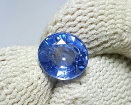UNHEATED CERTIFIED 1.31 CTS NATURAL BEAUTIFUL OVAL MIX BLUE SAPPHIRE CEYLON