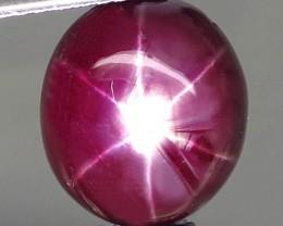 8.12 Carat Fiery Ruby Star - Gorgeous