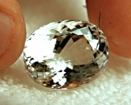 26.6 Carat White VVS Goshenite Beryl - Superb Gem