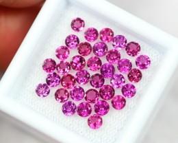 NR Lot 14 ~ 4.90Ct Natural VS Clarity Purple Color Rhodolite Garnet