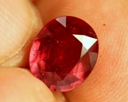 5.40 Carat Fiery Red Ruby - Gorgeous
