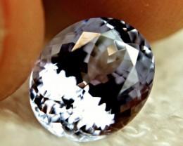 CERTIFIED - 4.36 Carat Vibrant VVS1 Tanzanite