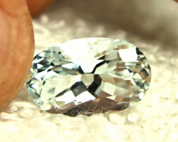 6.20 Carat Natural Himalayan VVS Aquamarine - Gorgeous