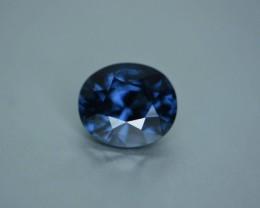 3.37 ct blue Sri Lankan spinel.