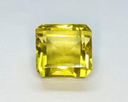 8.0 Crt Natural Lemon Quartz Faceted Gemstone (R 101)