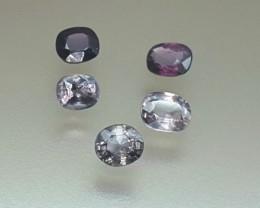4.30 Crt Natural Spinel Parcels Faceted Gemstone (R 101)