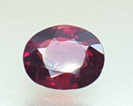 1.05 Crt Natural Red Spinel Faceted Gemstone (R 101)