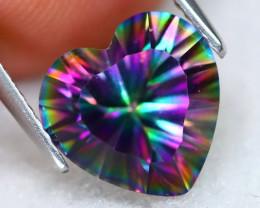 3.32Ct Natural Mystic Topaz Heart Cut S194