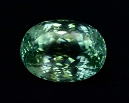 74.50 ct Green Spodumene Gemstone From Afghanistan