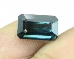 3.15 CT Dazzling Indicolite Afghan Tourmaline Gemstone (H)