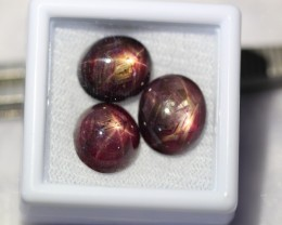 Lot 11 ~ 15.03Ct Natural 6 Rays Star Ruby