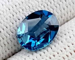 2.25 CT SWISS BLUE TOPAZ BEST QUALITY GEMSTONE IGC77