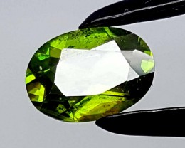 1.15 CT GREEN SPHENE TITANITE BEST QUALITY GEMSTONE IGC77