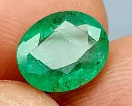 100% Natural Zambian Emerald 2.30Crt JL02