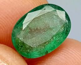 100% Natural Zambian Emerald 3 Crt  jle05