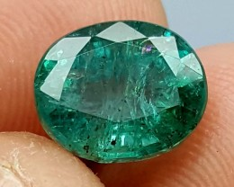 100% Natural Zambian Emerald 2.65 Crt  jle06