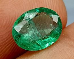 100% Natural Zambian Emerald 1.60 cts jle08