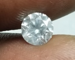 Stunning IGL Certified $5390 Nat 1.03ct. Round Brilliant White Diamond