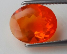 3.30 CTS WONDERFUL NATURAL MAXICAN FIRE OPAL PERFECTGEMS GEMS