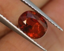 1.35CTS SPESSARTITE GARNET FACETED  TBG-2687