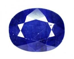 5.06 Cts Natural Blue Sapphire Oval Cut Thailand Gem