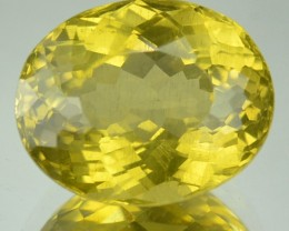 5.32 Cts Natural Yellow Apatite Oval Cut Brazil Gem