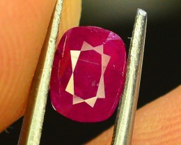 1.0 ct Natural Unheated Ruby~Kashmir