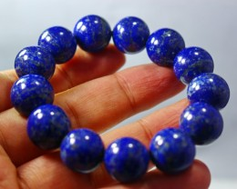 318 CT Natural lapis lazuli Bracelets Carved Beads Stone Special Shape