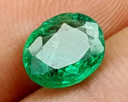 100% Natural Zambian Emerald 1.60 Crt  jle09