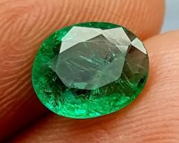 100% Natural Zambian Emerald 1.35 Crt  jle10