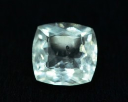 3.05 cts Untreated Rare Clear Pollucite Gemstone from Kunar