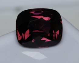 5 ct magenta red spinel.