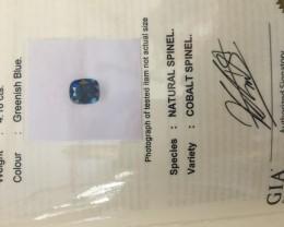 4.18 cobalt certified spinel.