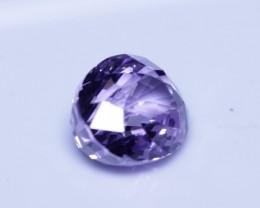 4.14 cts certified violet Sri Lankan spinel.