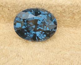 4.07 cts cobalt certified Sri Lankan spinel.
